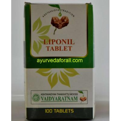 Vaidyaratnam Liponil Tablet