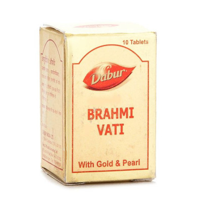 Dabur Brahmi vati (with gold)