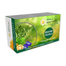 Kerala Ayurveda Brahmi Pearls herbal brain nourisher