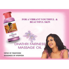 Dhathri Ayurveda Dhathri Fairness Massage Oil