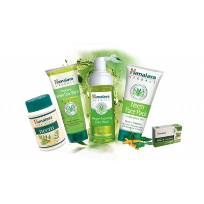 Himalaya's Neem range for Total skin care