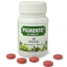 Charak 40 Pigmento tablets+ 50 gms Pigmento ointment